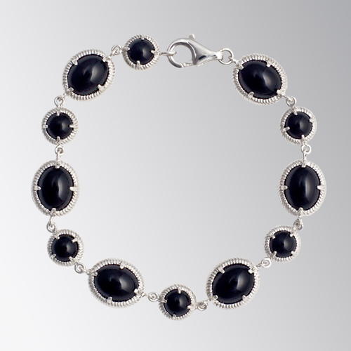 Gem Stones Bracelet Black Candy Bracelet April Venus New York Istanbul